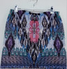Fashion Turkey style overall flower printing above knee skirt
