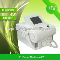 Professional used in salon portable IPL epilator machine with ipl filters A003