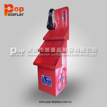 soft drink display stand, cardboard jewelry display stand units ,point of sale display stands