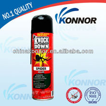 Knockdown insecticide spray killing flying and crawling insect