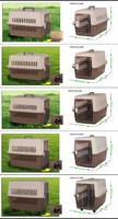 Portable Airline Approved Dog Crate/Pet Carrier/Outdoor Kennel for Medium Dogs/Cats Air Travel/Car Travel/Vet Visit--1001