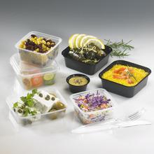 Catering take away food packaging box