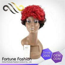 Modern Style Elegant Top Quality Soft And Shiny Two Tone Full Lace Wig