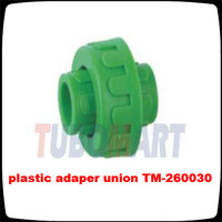 plastic adapter union PPR pipe fittings