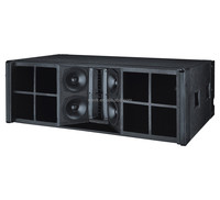 dual 12 inch outdoor pro line array speaker box+outdoor sound system equipment