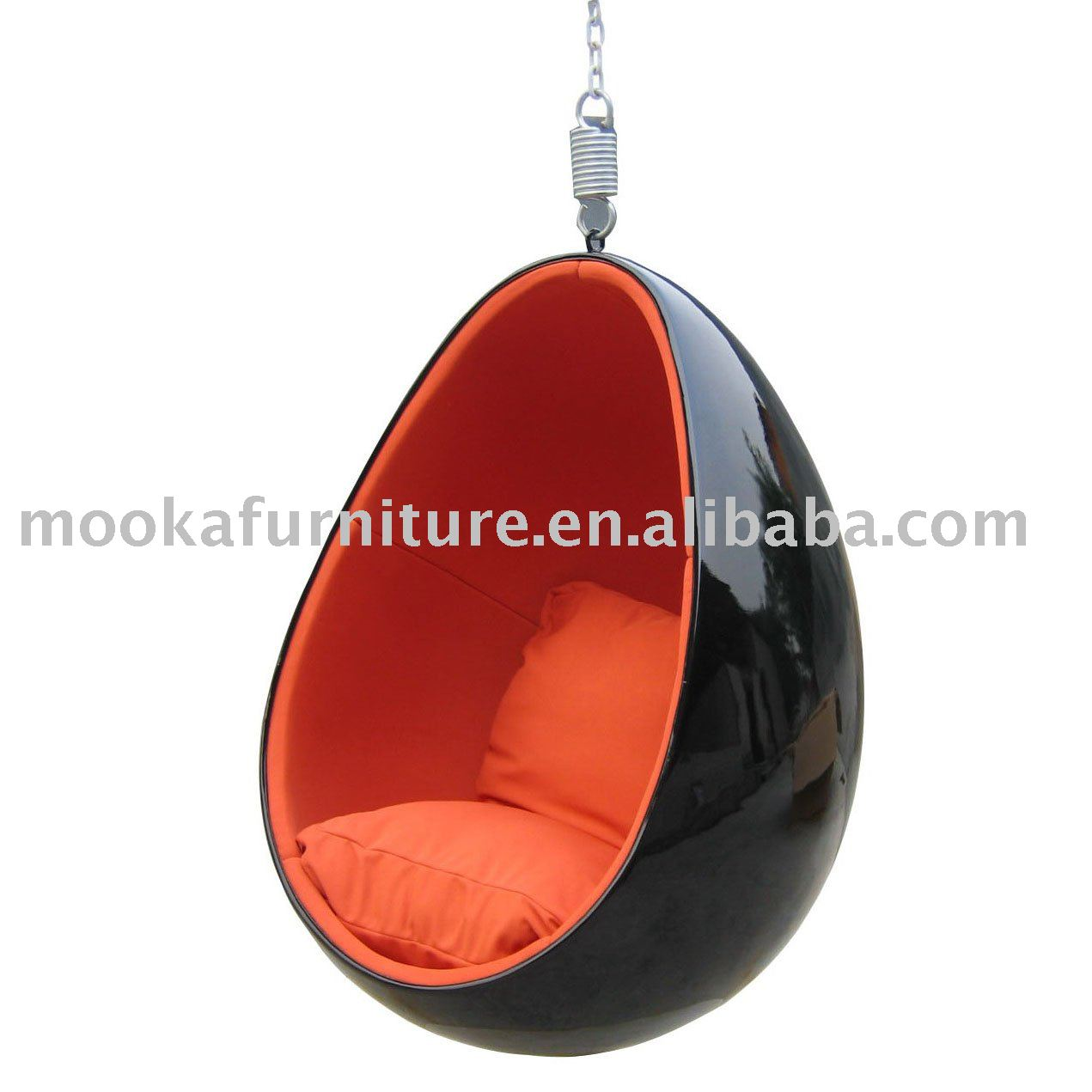 Ei h lse stuhl h ngen eero aarnio wohnzimmer sessel for Suspended egg chair