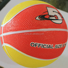 Super quality hot sale heavy duty rubber basketball