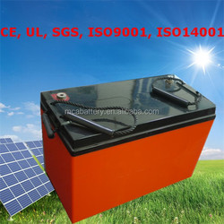 Relaible Quality Renewable Energy Storage Batteries 12V Rechargeable Batteries