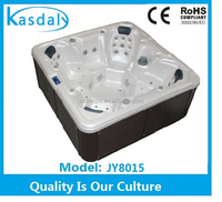 Outdoor Spa Manufacturer Portable Hot Tub with 7 seats