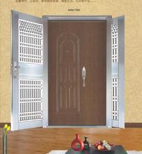 steel security door with fire proof