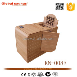 Luxury Portable home Infrared Half Body Sauna for family use