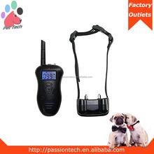 Pet-Tech P-518 330 yard LCD 100 levels vibration remote dog training collar shock