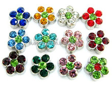 floating charms, origami owl, origami owl floating charms (rhinestone flower)