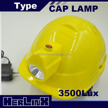 2.8ah LED miner lamp cap