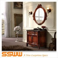 BF8301 Bathroom Mirrored Furniture