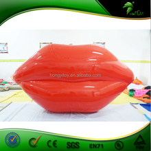 Giant Adverting Inflatable Lips Modeling PVC Inflatable Replicate Models with High Quality
