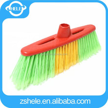 2015 household plastic whish broom with long bristle