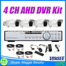4 channel full hd camera system AHD bullet camera with long IR range 60m hdd for ibm server 49y1876 1tb 49y1880 sas ds3512