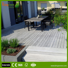 Anti UV wood plastic composite decking, composite wood decking boards hot sale!