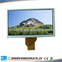"7"" inch tft 800x480 LCD panel with capacitive touch screen TFT LCD module display"