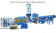 QT10-15 automatic hollow blocks machine for sale in philippines