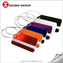 Aluminium Alloy Luggage Tags with Stainless Steel String
