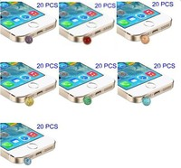 20Pcs/Lot Pearl Design 3.5mm Earphone Jack Phone Dust Plug for iPhone Samsung/for Sony HTC LG Etc