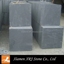 Rough black slate strips tile,outdoor stone wall tile