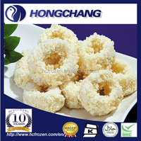 FROZEN BREADED SQUID RINGS