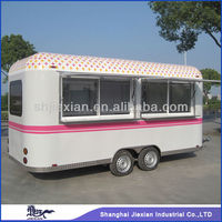 Professional Colourful Mobile wholesale travel trailer JX-FS500R