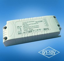 One channel constant current 0/1-10v&PWM 20W led driver