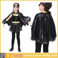 3 -11 Old Rubies Batgirl Tutu Kids Girls Halloween Costume