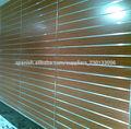 Slatwall MDF de la melamina, el panel slatwall, MDF