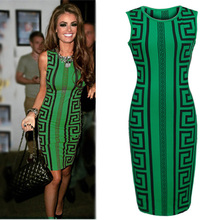 Walson girl outlet Elegant Ladies sleeveless cocktail party bandage stretch sexy bodycon dress ZT00627 ins factory in instyl