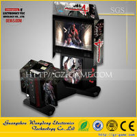2015 coin operated video gun shooting equipment/arcade redemption game machine for children game center
