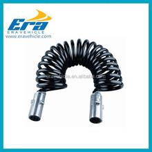Spiral cable 3M 2x 7-pin plug EP08