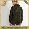 Sublimation cotton camo windbreaker jacket
