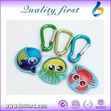 Hot Sale HF Ntag216 Proximity Cartoon Keychain/Keyfob