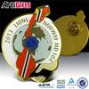 Wholesale gold metal lapel pins of metal emblem and badge