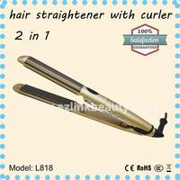 Wholesale Cheap Ceramic Natural Flat Iron Portable Hair Straightener