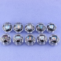 hot sale frozen elsa plastic ring with box holiday snow queen ring frozen cheap wholesale ring