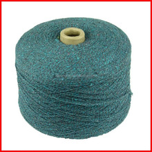 Sell factory recycled cotton yarn for towel knitted, low price