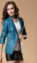 2015 new style of spring blue jacket for girl