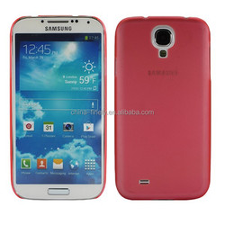 High quality colorful ultra-thin PC back cover case for Samsung Galaxy S4