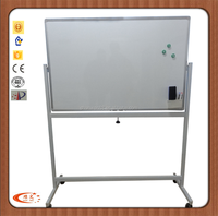 Guangzhou School Writing Board with Stand Movable Magnetic White Board