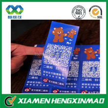 Unique design custom self adhesive label,paper/PVC sticker manufacture;Customized paper label