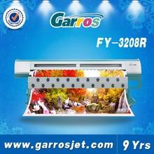 High Quality!! Infiniti/Challenger Solvent Printer FY-3208R, with 8 Seiko SPT510/35pl head,tarpaulin printing machine