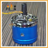 JL-013S Yiwu Jiju Promotional Antique Metal Souvenir India Brass Ashtray