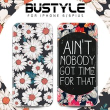 BUStyle High Quality custom soft tpu phone case for iPhone 6 back cover