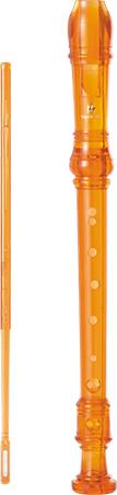 Pio e venda quente crianças brinquedo transparente clarinete